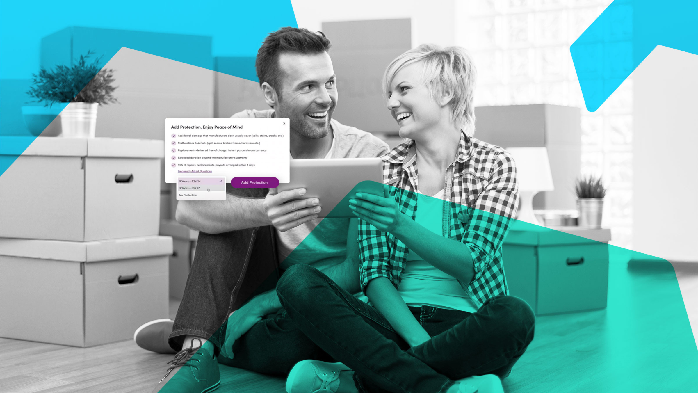 How Wayfair uses XCover to offer global warranty protection on their entire range of products